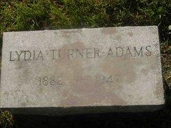 Lydia <i>Turner</i> Adams