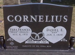 Vera Frances Fran <i>Frieze</i> Cornelius