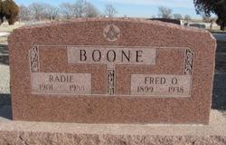 Radie B <i>Childers</i> Boone