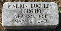 Marion <i>Buckley</i> Longino