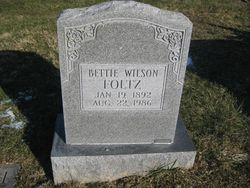 Bettie Ann <i>Wilson</i> Foltz