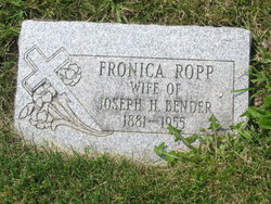 Fronica <i>Ropp</i> Bender