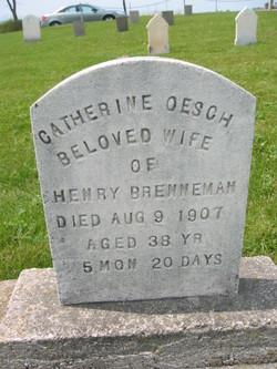 Catherine <i>Oesch</i> Brenneman