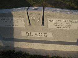 Marion Franklin Blagg
