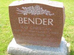 Ray Christian Bender