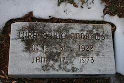 Lura <i>Grigg</i> Andrews