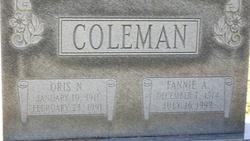 Fannie <i>Asberry</i> Coleman