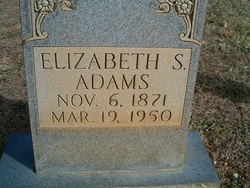 Elizabeth <i>Swaim</i> Adams