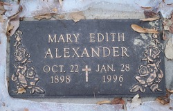 Mary Edith <i>Gish</i> Alexander