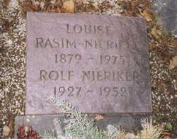 Louisa May Lulu <i>Nieriker</i> Rasim