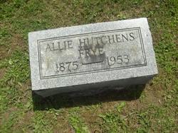 Allie Salome <i>Hutchens</i> Frye