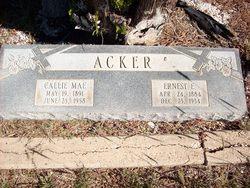 Ernest E Acker