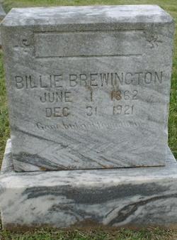 William W Billie Brewington