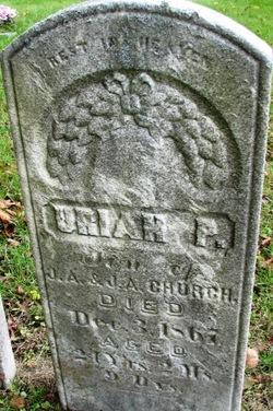 Uriah P Church