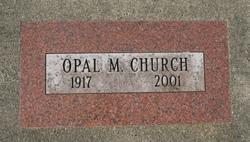 Opal Melissa <i>Baker</i> Church