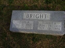 Carolyn R Bright