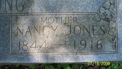 Nancy Nannie Elizabeth <i>Jones</i> Armstrong