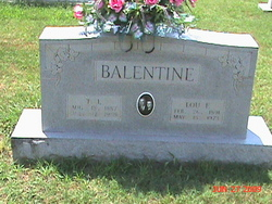 Lou Frances <i>Sutterfield</i> Balentine