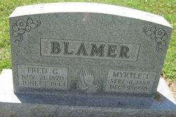 George Frederick Blamer