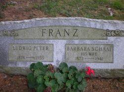 Barbara <i>Schaaf</i> Franz