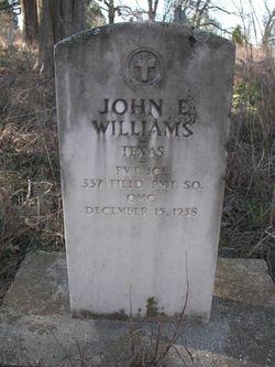 John E. Buddy Williams