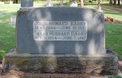 Sarah Sallie <i>Hubbard</i> Barry