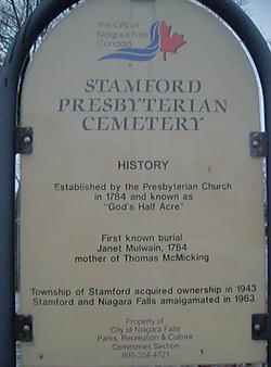 Stamford Presbyterian Cemetery