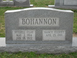 Nancy <i>Elliott</i> Bohannon