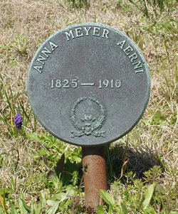 Anna <i>Meyer</i> Aerni