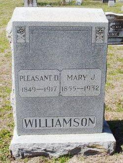 Mary Josephine <i>Yarbrough</i> Williamson
