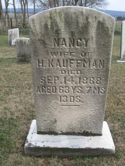 Nancy Anna <i>Stauffer</i> Kauffman