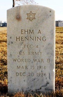 Ehm A Henning