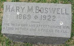 Mary Matilda <i>Crump</i> Boswell