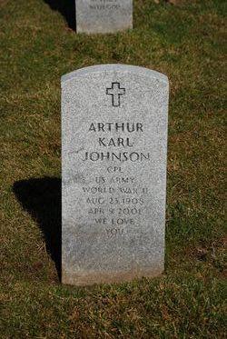 Arthur Karl Johnson