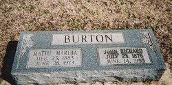 Mattie Martha <i>Salmon</i> Burton