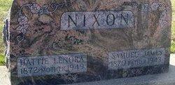 Harriet Lenora <i>Cheney</i> Nixon