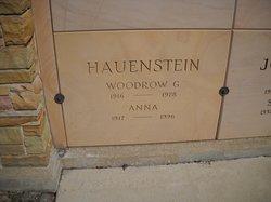 Woodrow B Hauenstein
