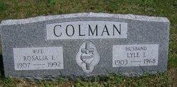 Rosalia I. <i>Creedon</i> Colman