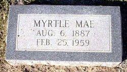 Myrtle Mae <i>Mounts</i> Appel
