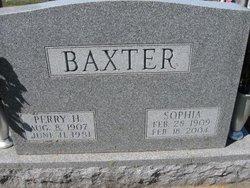 Sophia <i>Clancy</i> Baxter