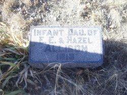 Infant Daughter Allison