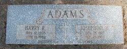 Josephine M Adams