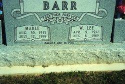 Mable <i>Moses</i> Barr