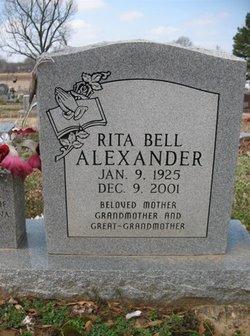 Rita <i>Bell</i> Alexander