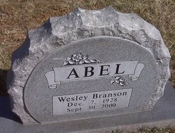 Wesley Branson Abel