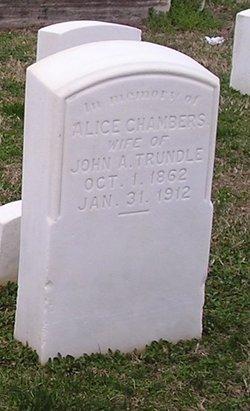 Alice <i>Chambers</i> Trundle