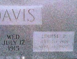 Ora Louise <i>Poole</i> Davis