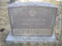 Frederick M. Alexander