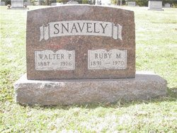 Ruby M <i>Reid</i> Snavely