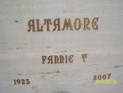 Fannie T Altamore